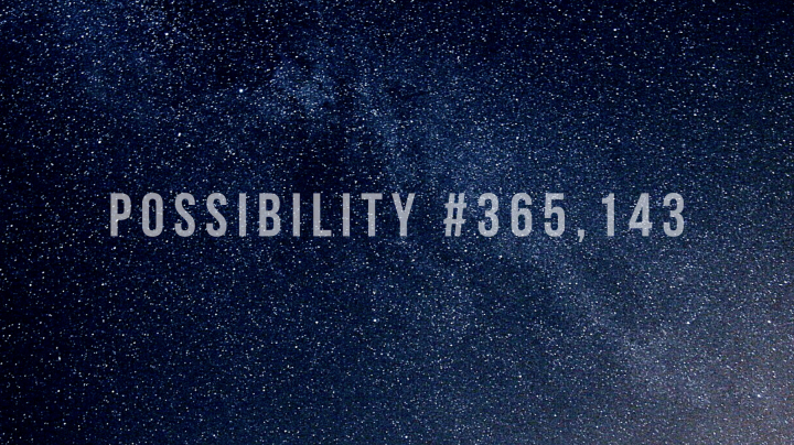 Possibility #365,143